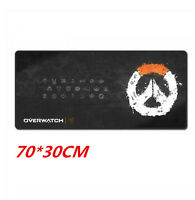 Large Razer Overwatch 700*300MM Speed Game Mouse Pad Mat Gaming Mouse Mat