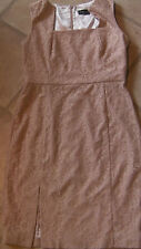 BNWT designer Ariella dress size 14 dusky pink lacy sleeveless party occasion