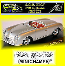Porsche No.1 Typ 356 Roadster 1947-48 silver metallic 1:43 Minichamps