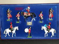 BRITAINS 5290 ROYAL SCOTS DRAGOON GUARDS LIMITED EDITION METAL TOY SOLDIER SET