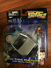 Back to the Future Minimates Vehicle TRU Exclusive DeLorean w/ Marty McFly BTTF