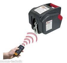 Elektrische Funk Seilwinde 12V 5T Bootswinde Motorwinde Ribimex Ribitech PE12V/T