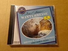 CD / SCHUBERT - FISCHER-DIESKAU - JORG DEMUS: WINTERREISE