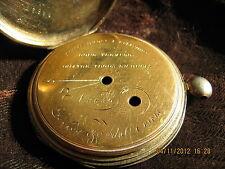 Original Le Roy & Fils A Paris early XIX century silver pocket watch case,KW,KS
