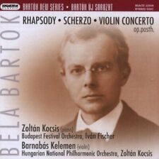 BARTOK,BELA Rhapsody for Piano & Orch / Scherzo for Orch & SACD