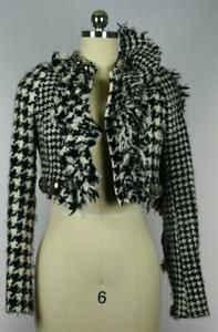 Gaetano Navarra Women's Vicuna Tweed Jacket Size 40
