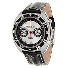 NEW Hamilton Timeless Classic Pan Europ Watch h35756755 Auto Chrono Men's