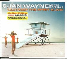 JAN WAYNE Keep the Spirit Alive 6TRX REMIXES & VIDEO CD Single SEALED USA seller