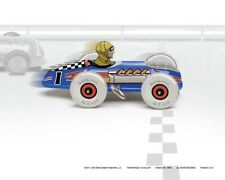 Marx Mechanical Speed Racer, Colorfully Restyled, 8 x10 Art Print