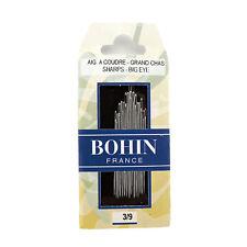 Bohin Sharps Big Eye Sewing Needles Size 3/9 Assorted
