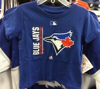 Toronto Blue Jays Kids Child Toddler Age 4T T Shirt AC Collection Team Icon MLB
