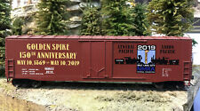 Golden Spike 150th Anniversary Car HO Scale-NMRA 2019 Convention Salt Lake City