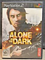 Alone in the Dark (Sony PlayStation 2, 2001) W/ Manual - Tested PS2 Game