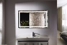 Bathroom Mirror - LED Backlit Mirror - Illuminated LED Bathroom -  Budapest IV