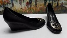 Tory Burch 'Sally' Wedge Pump in Black - Size 9M