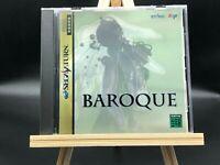 Baroque w/spine (Sega Saturn, 1998) from japan
