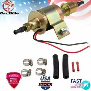 Fuel Pump Electric Gas Diesel Petrol HEP-02A 5-9PSI Universal New For Carburetor