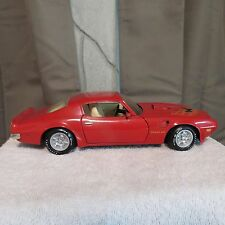 1973 Pontiac Firebird Trans Am Ertl AMERICAN MUSCLE 1:18 Scale Dicast SD-455 Red