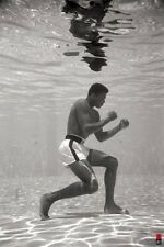Muhammad Ali - Underwater 24x36 Poster Art Print Training Free shipping Unframed