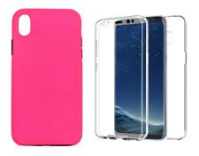 "Funda Carcasa Doble 360º Delantera + Trasera Para iPhone X / XS (4G) 5.8"""