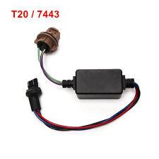 7443 T20 LED Bulb Warning Error Canceller Load Resistor Hyper Flash Decoder