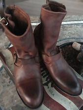 NEW/NIB Vintage Shoe/Sundance Catalog Veronica/Casey J Leather Boots 9.5 9 brown