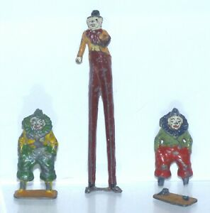 CIRC11 lead Circus - spare Charbens clown pieces to restore