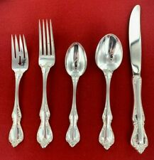 New listing Towle Debussy Sterling Silver 5 Piece Place Setting No Monogram - 109453J