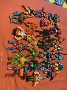 masters of the universe lot vintage
