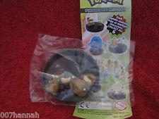 2 Pokemon Figure/Zukan:Bidiza+Bidifas,Neu(Bidoof+Bibarel)Tomy-Yujin/Figures//F35