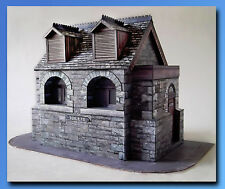 Edwardian Public Toilet  7mm scale kit Ideal for 1:43 Cars Or O Gauge