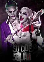 SUICIDE SQUAD HARLEY QUINN JOKER MOVIE A3 ART PRINT PHOTO POSTER GZ6135