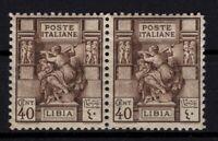 P134570/ ITALIAN LYBIA / SASSONE # 55 MINT MNH PAIR CV 300 $