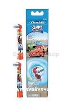Oral-B Stages Power 2er - Aufsteckbürsten für Kinder - Motiv Cars