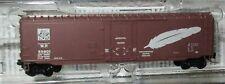 Micro Trains N Scale - Western Pacific Railroad 50' Box Car  #55901 - 50700661