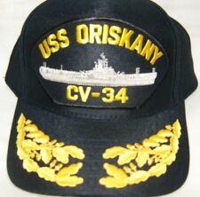 cf479c1577a5d États-unis Marine Casquette Original Uss Oriskany Fabriqué aux États Unis  Double