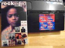 RARE OOP Rock video monthly VHS r&b Boyz II Men Brownstone Immature Jade Levert