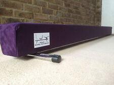 finest quality gymnastics gym balance beam purple 6FT long reduced look bargain