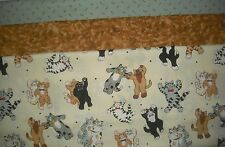 "Quilt, Sew, Fabric Kit Simplicity Heirloom Elegance Designs 44"" x 53"" CATS"