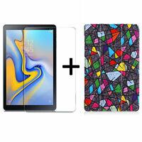 2in1 Set Per Samsung Galaxy Tab A 10.5 SM-T590 T595 Protettivo + Custodia