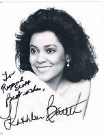 Kathleen Battle soprano Opera  Singer Hand Signed   Photograph 10 x 8