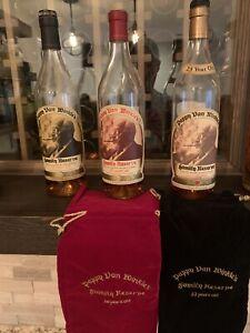 Pappy Van Winkle's 20 Year Old Bourbon Whiskey Bottle - 750ml (Empty)