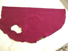 Gold Paw Stretch Fleece Dog Coat Soft Warm Stretchy Pet Sweater - Garnet