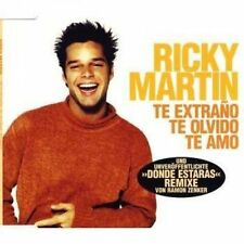 Ricky Martin Te extraño, te olvido, te amo (1997) [Maxi-CD]