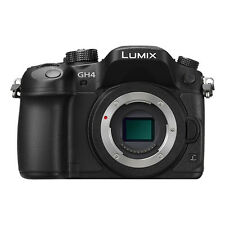 Panasonic Lumix DMC-GH4 Mirrorless Digital Camera Body Black  - DMC-GH4KBODY