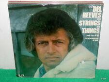DEL REEVES WITH STRINGS AND THINGS - SEALED VINYL LP