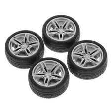 4pcs 48mm Simulation Rubber Wheel Tire Wheel Toy Model DIY RC Spare Parts