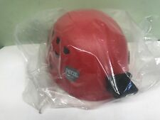 Petzl Ecrin Roc Climbing Helmet Climbing, Caving Sz 53- 63cm Red w/ camera