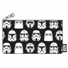 Loungefly Star Wars Zip Pouch, Troopers Print Cosmetic/Coin Bag, Pencil Pouch
