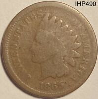 1865 Indian Head Penny Cent